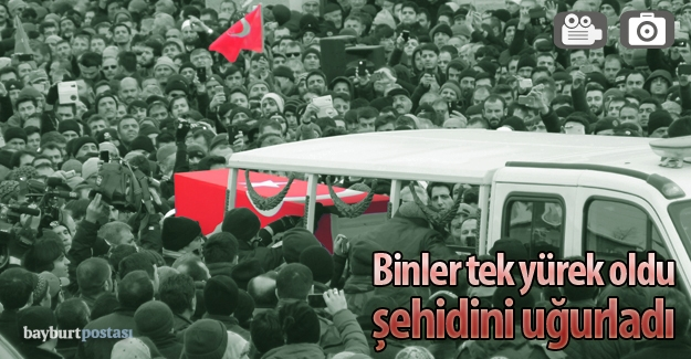 Şehit Erbay'ı binler uğurladı
