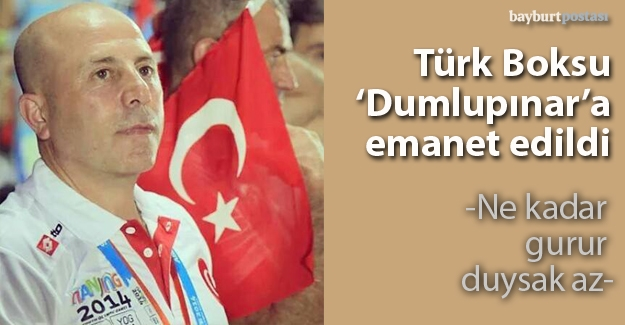 Türk Boksu 'Dumlupınar'a emanet edildi