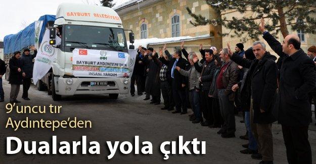 Bayburt'tan Türkmenlere destek sürüyor