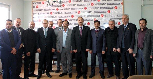 Güvenlik güçlerine bir destek de MHP'den