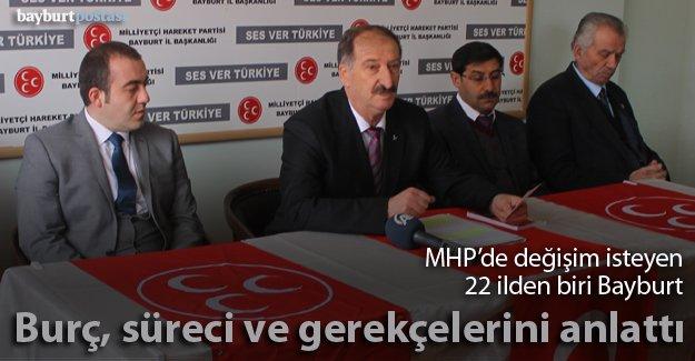 MHP'den 'tüzük kurultayı' açıklaması