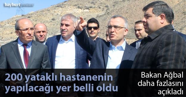 Bakan Ağbal, Bayburt yatırımlarını açıkladı