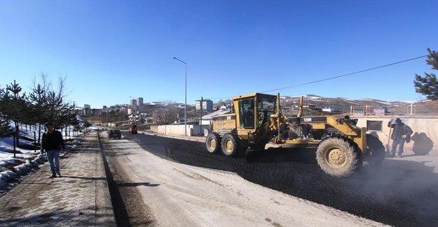 Bayburt Belediyesi'nden asfalt çalışması