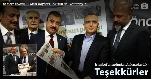 Bayburt Postası Ankara'daydı