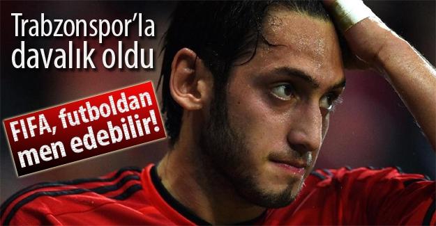 Hakan Çalhanoğlu, futboldan men cezasıyla karşı karşıya