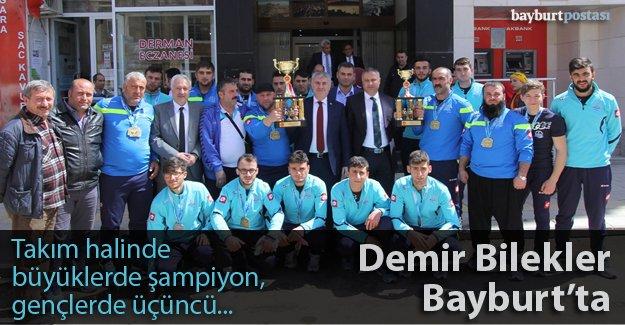 Demir Bilekler yine Türkiye Şampiyonu