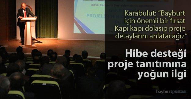 """""""Genç Çiftçi Hibe Destek"""" Projesi tanıtıldı"""