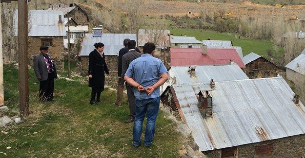 Kaymakam Yıldızhan'dan köy ziyareti