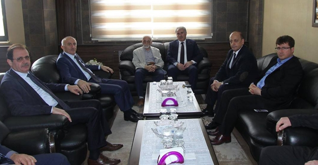 Bilgin'den Başkan Memiş'e ziyaret