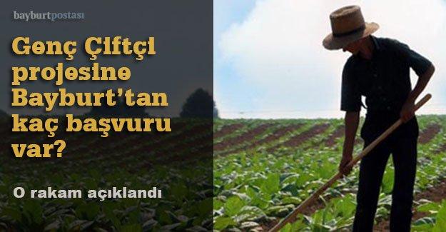 'Genç Çiftçi' projesine kaç başvuru var?