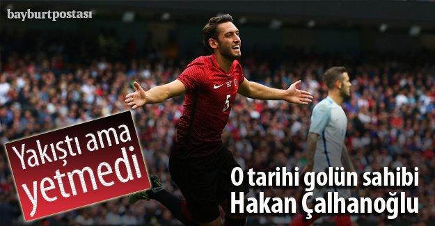 O tarihi gol Hakan Çalhanoğlu'na nasip oldu