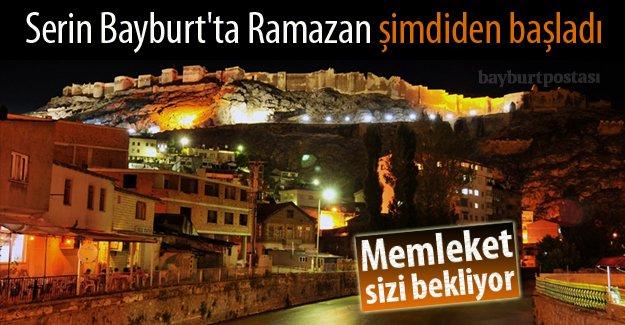 Serin Bayburt'ta Ramazan