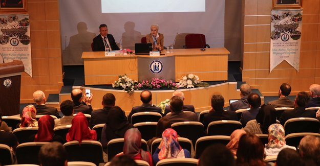 TÜBİTAK heyetinden Bayburt'ta konferans