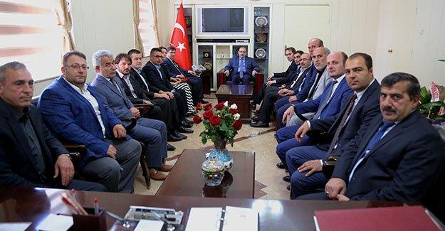 AK Parti'den Vali Ustaoğlu'na ziyaret