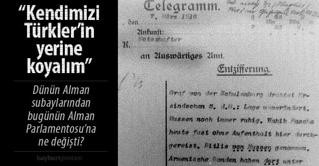 Alman belgelerinde Ermeni mezalimi