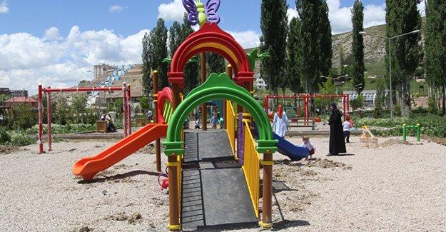 Kent Ormanına 'Engelsiz Çocuk Parkı'