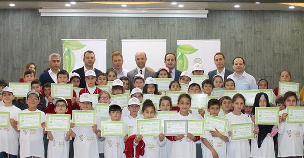 'Lider Çocuk Tarım Kampı' sona erdi