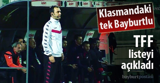 Tek ulusal hakemimiz Murat Türkoğlu, B klasmanında