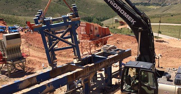 Beton santralinde kaza: 1 kişi ağır yaralı