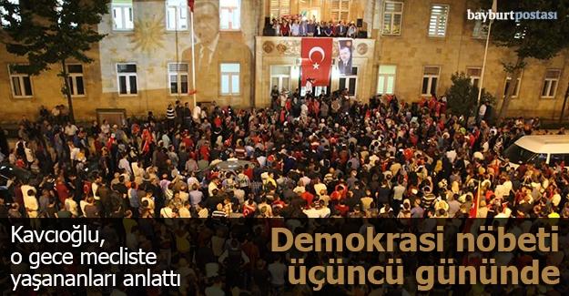"Kavcıoğlu: ""Millet darbecilere darbe yaptı"""