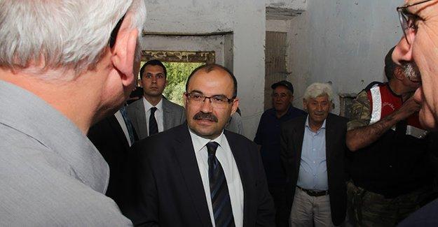 Ustaoğlu'ndan Balkaynak Köyü'ne ziyaret