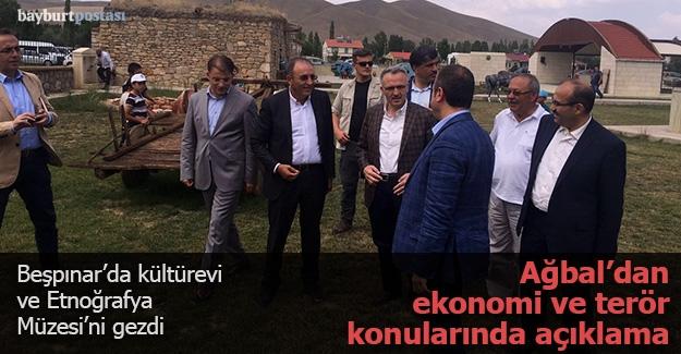 Bakan Ağbal, Beşpınar'da 'kültürevi'ni ziyaret etti