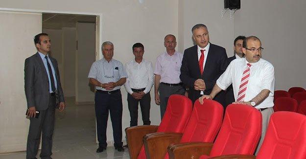 Karakaşoğlu, kurum çalışmalarını anlattı
