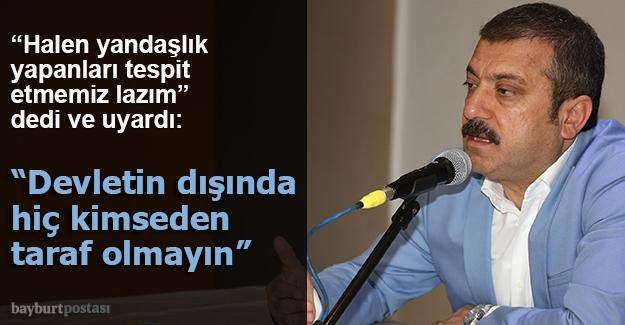 """Kavcıoğlu, """"Mücadeleyi bıçak sırtında devam ettiriyoruz"""""""