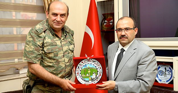 Tuğgeneral Saraç'tan Vali Ustaoğlu'na ziyaret