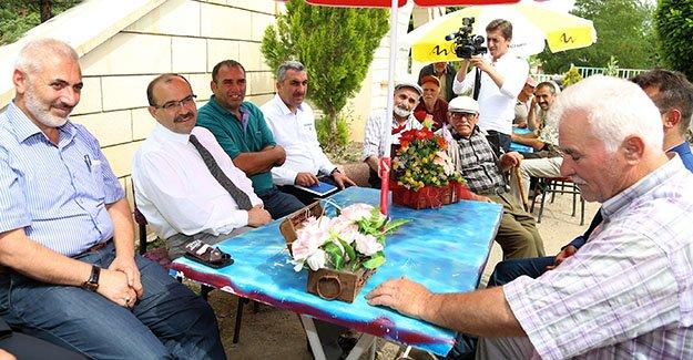 """Ustaoğlu: """"Köylerde önceliğimiz içme suyu"""""""