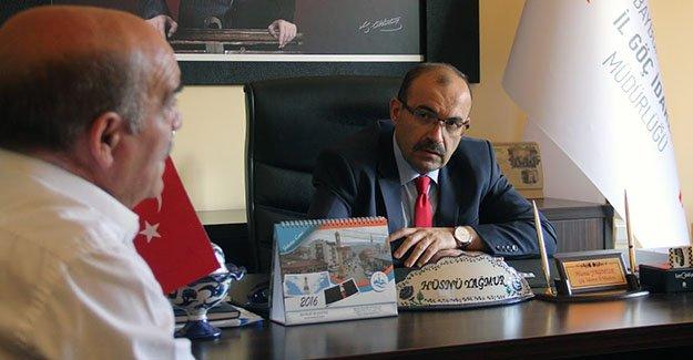 Ustaoğlu'ndan AFAD, İŞKUR ve Göç İdaresi'ne ziyaret