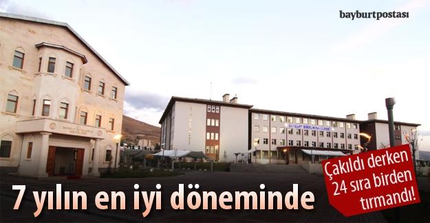 Bayburt Üniversitesi, karneyi düzeltti