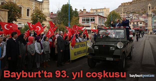 Bayburt'ta Cumhuriyet Bayramı coşkusu