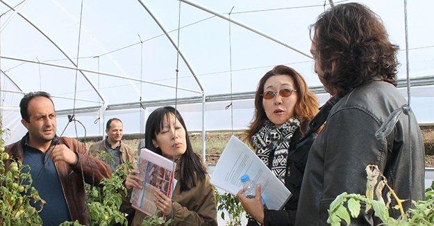 Japon heyete, o proje anlatıldı
