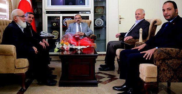 Saadet Partisi'den Vali Ustaoğlu'na ziyaret