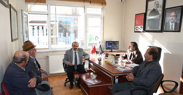 Ustaoğlu'ndan siyasi partilere iade-i ziyaret