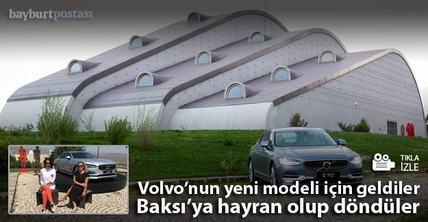 Volvo, amiral gemisini Baksı'da tanıttı