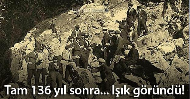 136 yıl sonra... Ovit Tüneli'nde ışık göründü