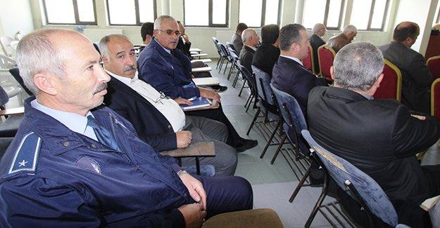 Belediye çalışanlarına seminer