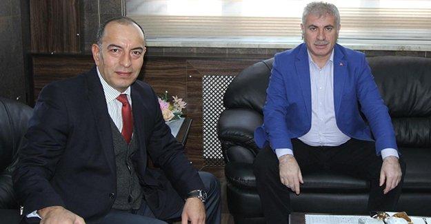 Emniyet Müdürü Er'den Başkan Memiş'e ziyaret