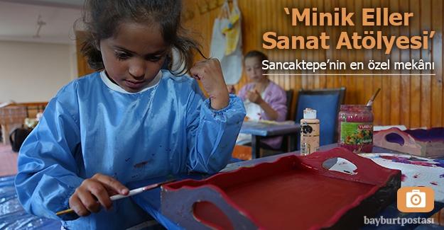 'Minik Eller Sanat Atölyesi' ve gönüllü eğitimcisi