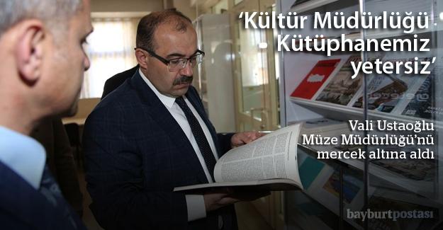 Ustaoğlu'ndan Kültür Müdürlüğü mesaisi