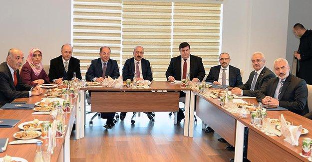 KUDAKA, Bakan Elvan başkanlığında toplandı
