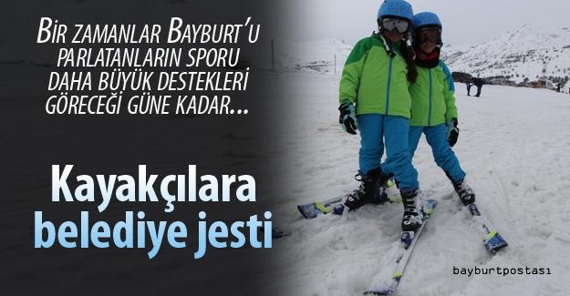 Bayburt Belediyesi kayakçıları taşıyacak