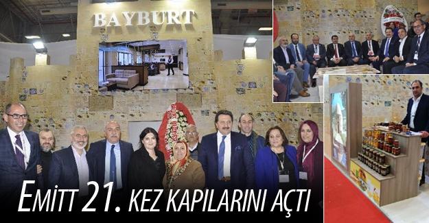 Bayburt, EMITT 2017 Turizm Fuarı'nda