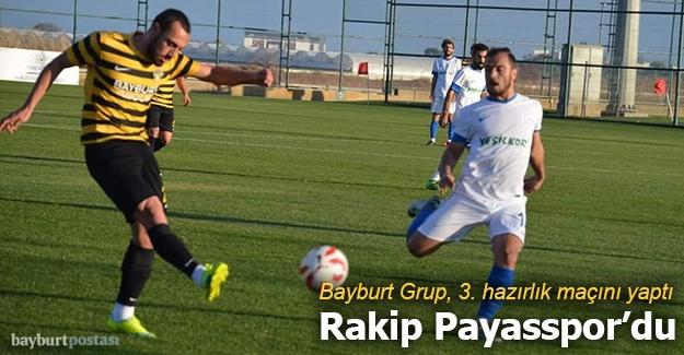 Bayburt Grup, Payasspor'a mağlup