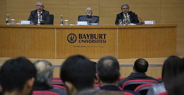 """Bayburt Üniversitesi'nde """"Eğitim ve Geleceğimiz"""" konferansı"""