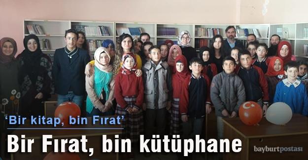 Fırat Çakıroğlu'nun ismi kütüphanelerde yaşatılıyor