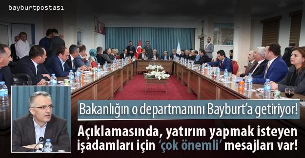 Maliye Bakanlığı Çağrı Merkezi Bayburt'ta kurulacak