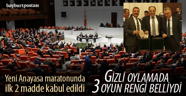 Meclis'te yeni Anayasa maratonu